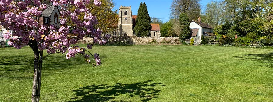 Towersey Village Green and St Catherine's Church