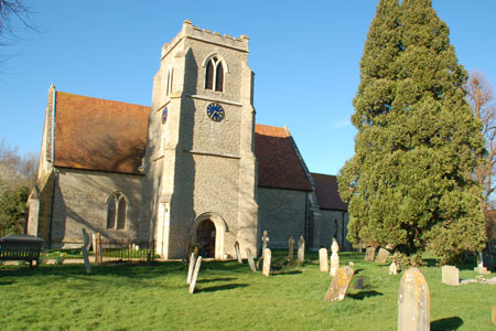 St Catherine's Church dates back to Saxon times.