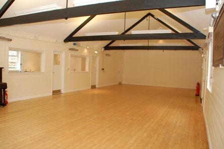 Towersey Hall spacious interior