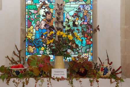 Harvest displays at St Catherine's Towersey